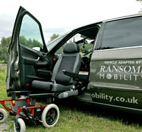 Motability Demonstration Vehicle