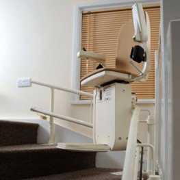 Curved Stairlifts: Platinum Curve