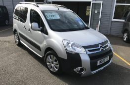 2011 CITROEN BERLINGO MULTISPACE HDI WHEELCHAIR ACCESSIBLE VEHICLE WITH ONLY 22000 MILES