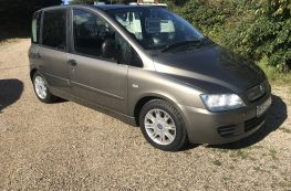 2008 FIAT MULTIPLA PASSENGER UP FRONT WHEELCHAIR ACCESS VEHICLE  –  45k