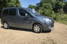 2012 PEUGEOT PARTNER TEPEE S HDI 1.6 MANUAL WHEELCHAIR ACCESS VEHICLE –  ONLY 18500 MILES