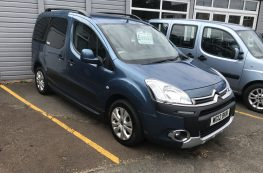 2012 CITROEN BERLINGO MULTISPACE HDI WHEELCHAIR ACCESSIBLE VEHICLE