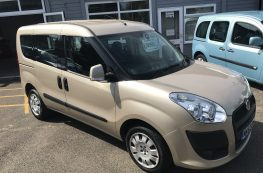 2012 FIAT DOBLO WHEELCHAIR ACCESS VEHICLE  1.4 PETROL MANUAL ONLY 21K