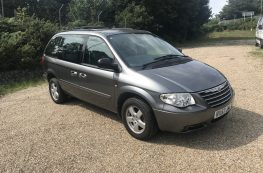 2008 CHRYSLER GRAND VOYAGER WHEELCHAIR ACCESSIBLE VEHICLE