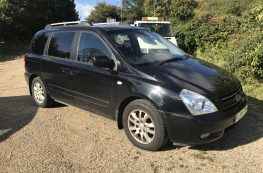 2008 KIA SEDONA TS PASSENGER UP FRONT WHEELCHAIR ACCESS VEHICLE   –  69k