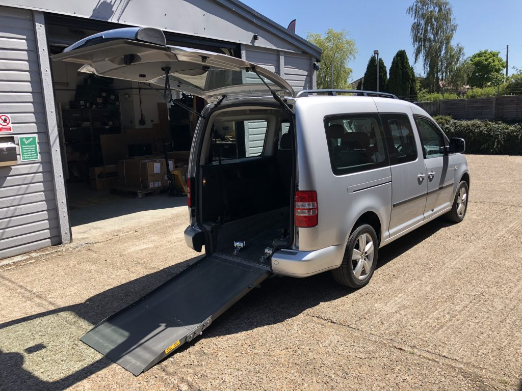 Vw Motability >> 2012 VW CADDY MAXI 1.6 AUTO WHEELCHAIR ACCESS VEHICLE - | Ransome Mobility Solutions