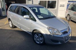 2013 VAUXHALL ZAFRIA ESTATE 1.8 PETROL WHEELCHAIR ACCESS VEHICLE ONLY 5500MILES