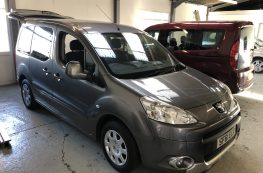 2011 PEUGEOT PARTNER HDI TEPEE S WHEELCHAIR ACCESS VEHICLE