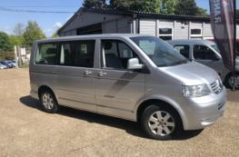 2005 VW CARAVELLE SE TDI AUTO DRIIVE FROM OR PASSANGER UP FRONT WAV