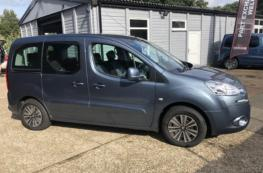 2012 PEUGEOT PARTNER TEPEE S 1.6 MANUAL WHEELCHAIR ACCESS VEHICLE  – ONLY 16K