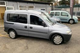 2009 VAUXHALL COMBO 1.3 DIESEL WHEELCHAIR ACCESS VEHICLE ONLY 19000 MILES