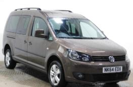 2014 VW CADDY MAXI LIFE 1.6 AUTO WHEELCHAIR ACCESS VEHICLE  –  ONLY 30K